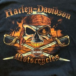 Harley-Davidson Hawaii Pirate Shirt